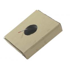 CABLE ACIER GALVA PLASTIFIE 2/3mm 7X7