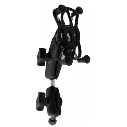 """SUPPORT COMPLET UNIVERSEL RAM TELEPHONE 5/6"""" - 2 BRAS"""
