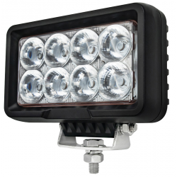 PHARE DE TRAVAIL RECTANGLE 8LED 7200LM LARGE