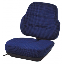 ASSISE DOSSIER SC 70 TISSU + 1/2 GLISSIERES SUP