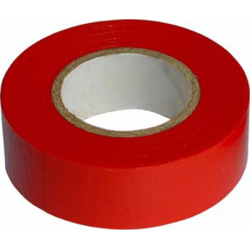 RUBAN ADHESIF ROUGE 19MM x 10M