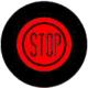 INTERRUPTEUR POUSSOIR AVEC SYMBOLE STOP