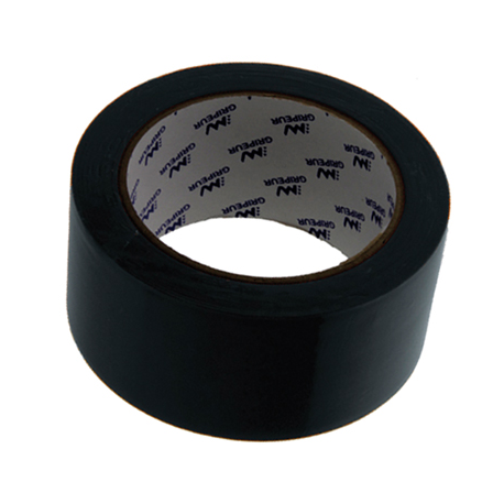 ADHESIF REPAR'BACHE PVC NOIR 75MMx33M