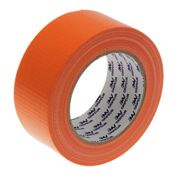 ADHESIF TOILE ORANGE 48MM x 33M