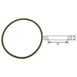 JOINT TORIQUE D.INT 18.72.X2.62 - EPDM