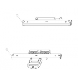 AMORTISSEUR LATERAL POUR SERIES 3000, 5000