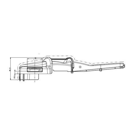 CARTER GAUCHE P/ASSISE SC 250-270
