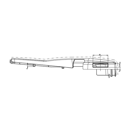 CARTER DROIT P/ASSISE SC 250-270