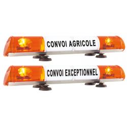 RAMPE DE SIGNALISATION CONVOI AGRICOLE/EXCEPT. MAGNETIQUE
