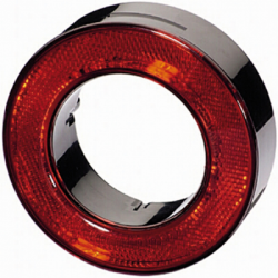 CATADIOPTRE ROND ROUGE
