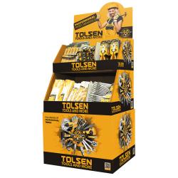 PRESENTOIR CARTON TOLSEN 56*56*132CM