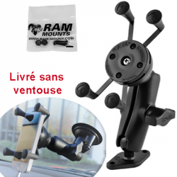SUPPORT COMPLET UNIVERSEL POUR TELEPHONE PORTABLE RAM