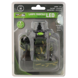 LAMPE FRONTALE LED AVEC DETECTEUR LUMITRACK