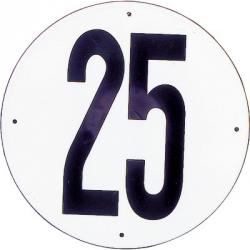DISQUE 25 KM/H PVC