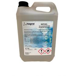 GEL HYDRO-ALCOOLIQUE SEPGEL FV70 BIDON 5L