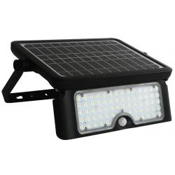 PROJECTEUR SOLAIRE LED 1080LM ORIENTABLE AVEC 2 DETECTEURS