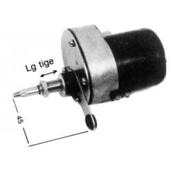 MOTEURS ESSUIE GLACE POUR MONTAGE ANGULAIRE 12V - 65° - LG TIGE 55 MM