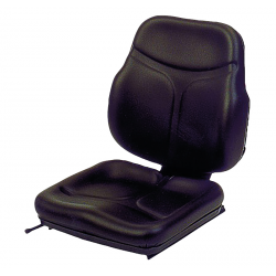 ASSISE DOSSIER SC74 TEP + 1/2 GLISSIERES SUP